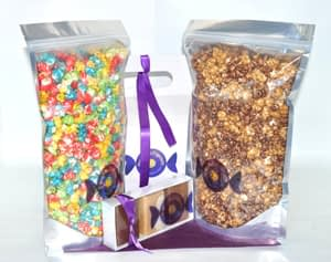 Anklebiters Popcorn & Fudge Gift Box