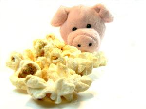 Creamy Bacon Popcorn