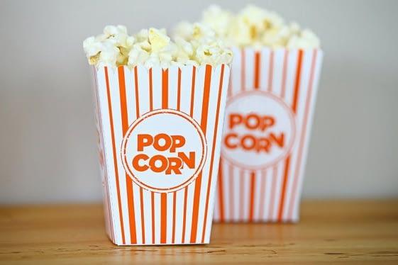 Popcorn Movie Boxes