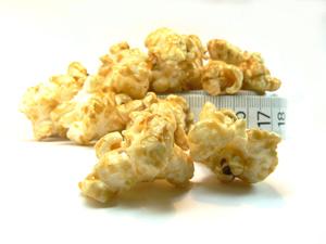 Skinny Caramel Popcorn