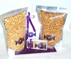 Traditional Popcorn & Fudge Gift Box